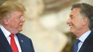 Acuerdos comerciales, China y Venezuela, entre los temas abordados por Macri y Trump