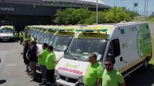 Ya son 95 los municipios bonaerenses que cuentan con el servicio de emergencias SAME