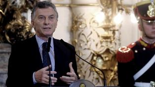 """Macri: el proyecto enviado al Congreso """"busca terminar con la violencia de las barras"""" en el fútbol"""