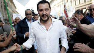 Salvini pide elecciones anticipadas por la crisis de gobierno
