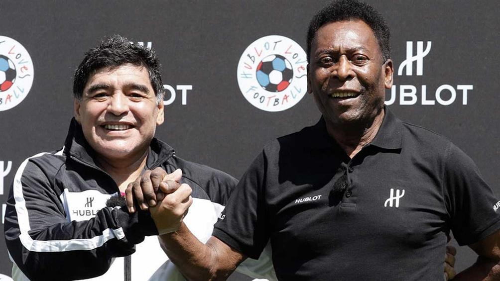 Pelé a Maradona: