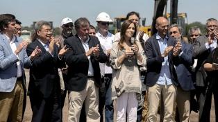 Vidal anunció el inicio de la obra de la autopista sobre la ruta nacional 5