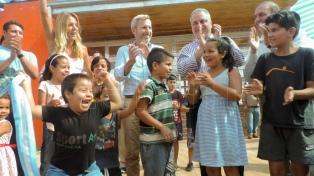 Frigerio inauguró obras por más de 150 millones de pesos