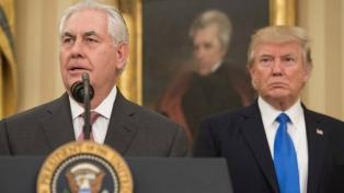 Donald Trump insultø a su ex secretario de Estado Rex Tillerson