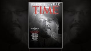 """La revista Time eligió """"persona del año"""" al periodista asesinado Khashoggi"""