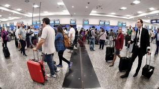 Más de un millón doscientas mil personas volaron en cabotaje en febrero