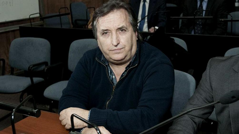 Nuñez Carmona cumple la condena con tobillera electrónica en su domicilio de Mar del Plata.