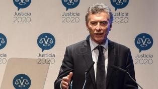 """Macri expresó su compromiso """"para erradicar toda forma de violencia contra las mujeres"""""""