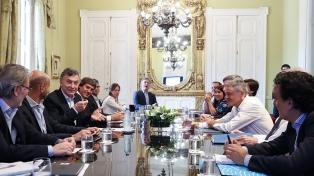 Macri mantuvo reuniones vinculadas a economía del conocimiento y a proyectos de inversión
