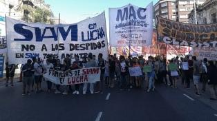 Por una protesta está cerrado uno de los ingresos al puente Pueyrredón en Avellaneda