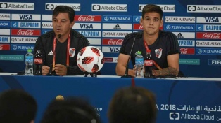 """Gallardo y """"Pity"""" Martínez fueron elegidos como los mejores de Sudamérica en 2018"""