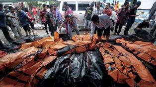 Suben a 429 los muertos por el tsunami y hay más de 150 desaparecidos