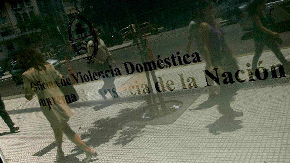 La Oficina de Violencia de la Corte Suprema queda en la planta baja de Lavalle 1250.
