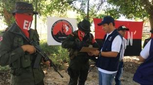 El ELN dejó en libertad a cuatro civiles y dos policías secuestrados