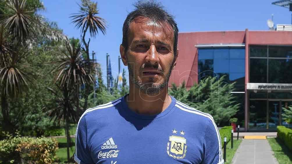 Fernando Ariel Batista no viajó con el seleccionado argentino a Brasil. Foto: Raúl Ferrari.