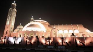 """Inauguraron la catedral copta """"más grande de Oriente Medio"""""""