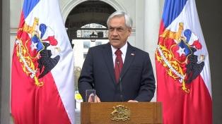 Piñera recibió un premio por su aporte en la lucha contra el cambio climático