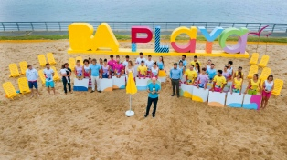 Rodriguez Larreta inauguró la 11° edición de Buenos Aires Playa