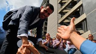 """Para Guaidó, """"el único mandato"""" que importa es el del """"pueblo"""""""
