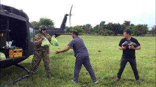 Llegaron a Corrientes 22 toneladas de alimentos para las familias inundadas