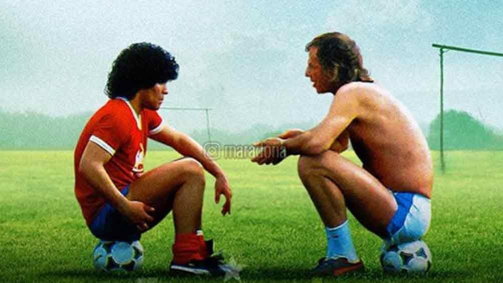 """Diego fue campeón del Mundo Juvenil en Japón 1979, con la conducción del """"Flaco"""" Menotti, a quien el """"10"""" lo consideraba el mejor DT """"que tuvo""""."""