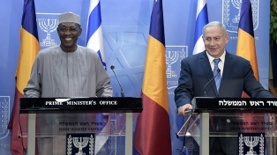 Netanyahu restablece relaciones diplomáticas con Chad