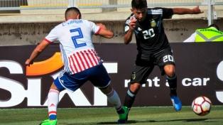 Argentina debutó en Curicó con un empate ante Paraguay