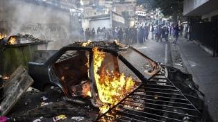 El Parlamento venezolano afirmó que más de 40 personas murieron en las últimas protestas