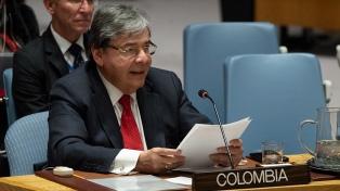 El ministro de Defensa colombiano en terapia intensiva con complicaciones por coronavirus