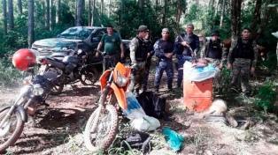 Desmantelaron a un campamento de cazadores furtivos