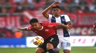 Independiente y Talleres igualaron en Avellaneda