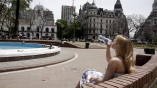 Máxima de 34 grados, elevada sensación térmica y alerta naranja en Buenos Aires