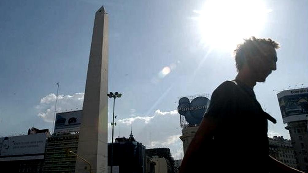 Viernes con una máxima de 32 grados en la Ciudad de Buenos Aires y alrededores