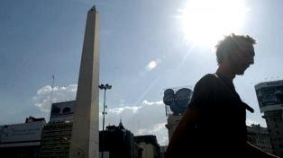 Sábado con una máxima de 33 grados en la Ciudad y el conurbano bonaerense