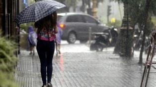 Alerta por tormentas fuertes para Buenos Aires, Entre Ríos, Santa Fe y Capital Federal