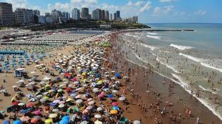 Mar del Plata: la sensación térmica supera los 41 grados en el día más caluroso del año