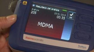 Incorporan dos dispositivos de última tecnología para detectar drogas