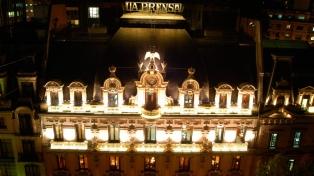 Reinician la visitas guiadas por el ex edificio del diario La Prensa