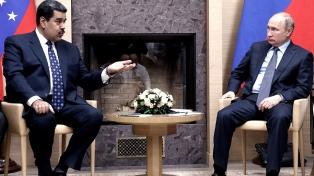 """Maduro viajó a Moscú para reforzar la relación con la """"patria rusa"""""""