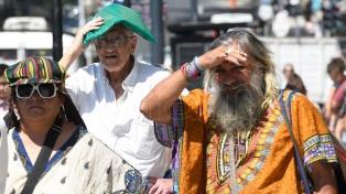 Hay alerta naranja por calor en la Ciudad de Buenos Aires y alrededores