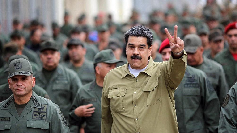 Maduro anunció que las Fuerzas Armadas harán ejercicios durante todo octubre