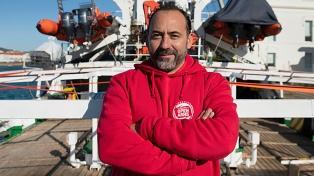 Ricardo Sandoval, el argentino que rescata a migrantes en el Mediterráneo
