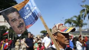 """El chavismo celebra en las calles los 20 años de la """"revolución bolivariana"""""""