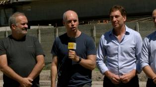 Comienzan las obras del Parque Ferroviario Palermo, un espacio verde recuperado