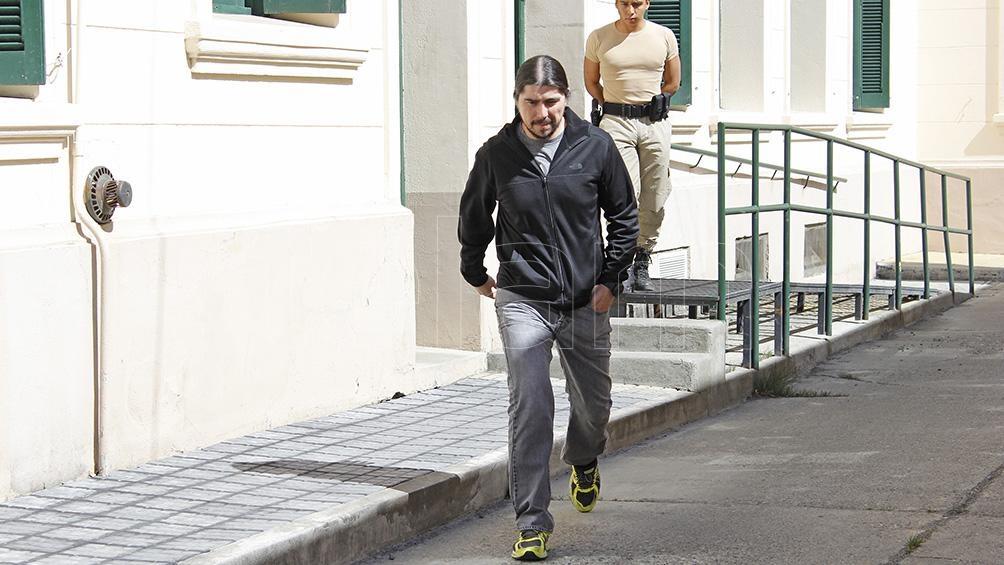 Báez está preso en el penal de Ezeiza.