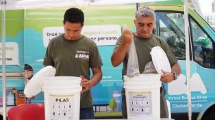 Impulsan un plan piloto para recolección y reciclado de pilas en desuso