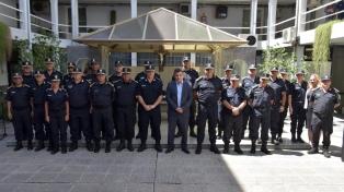 Ritondo puso en funciones a la nueva cúpula de la policía bonaerense, que sumó otra mujer