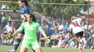 River le ganó a Boca en el superclásico femenino