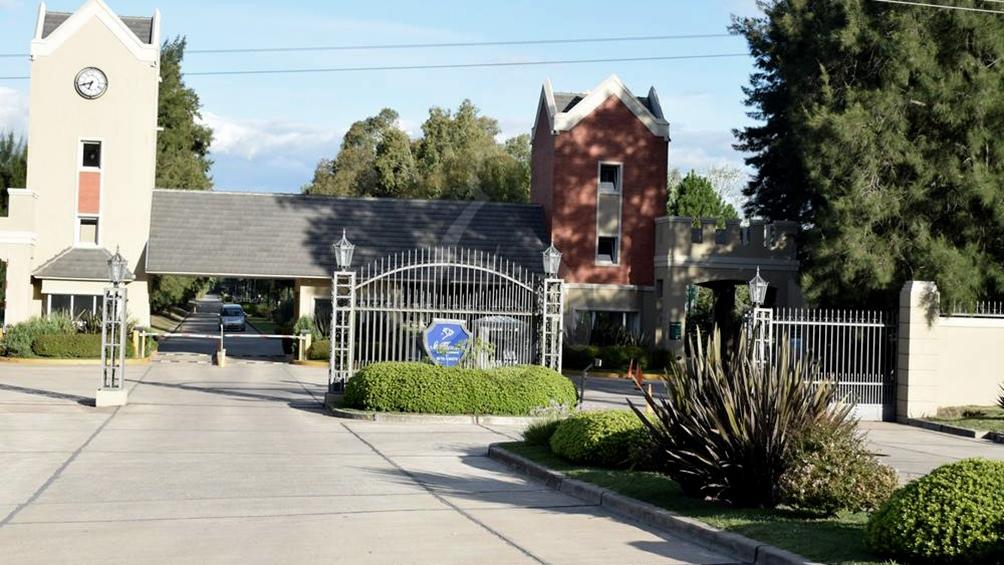 El hecho sucedió en la vivienda situada en los lotes 639/640 del country Saint Thomas.