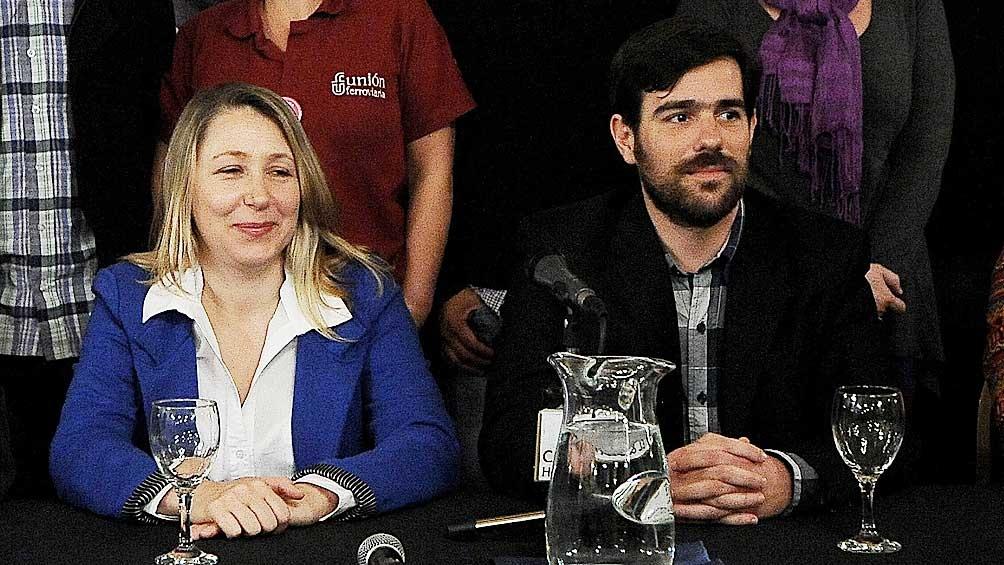 Bregman y Del Caño participaron de las diferentes conferencias que se realizaron.